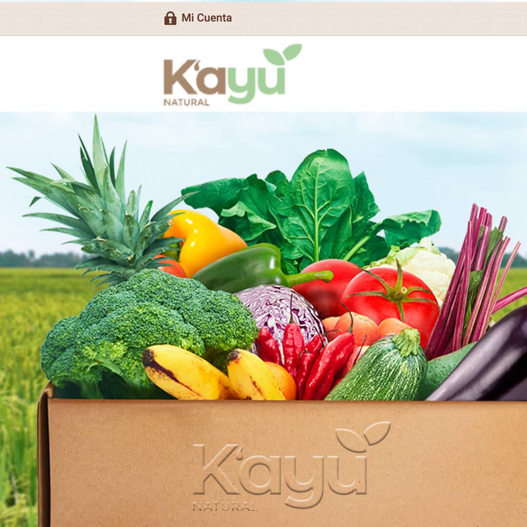 Tienda Virtual Ecommerce de Alimentos Naturales - Kayu