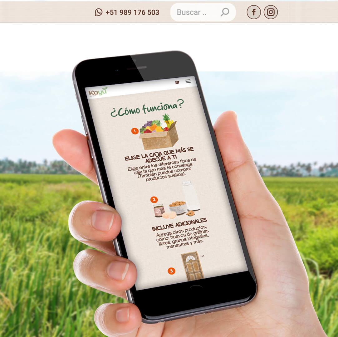 Tienda En Linea de Alimentos Naturales - Kayu