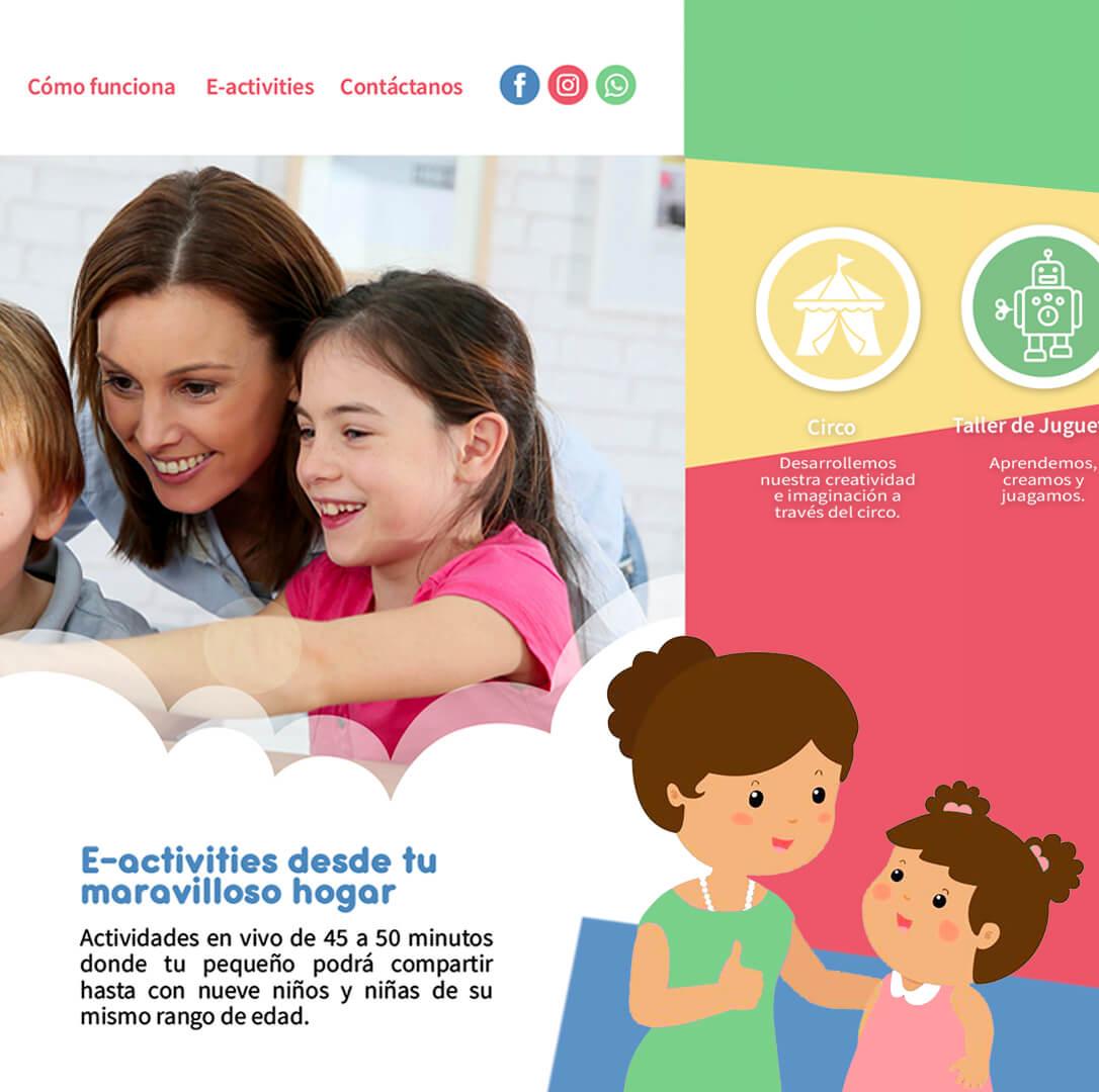 Escuela en Linea para niños - My Wonderful Home
