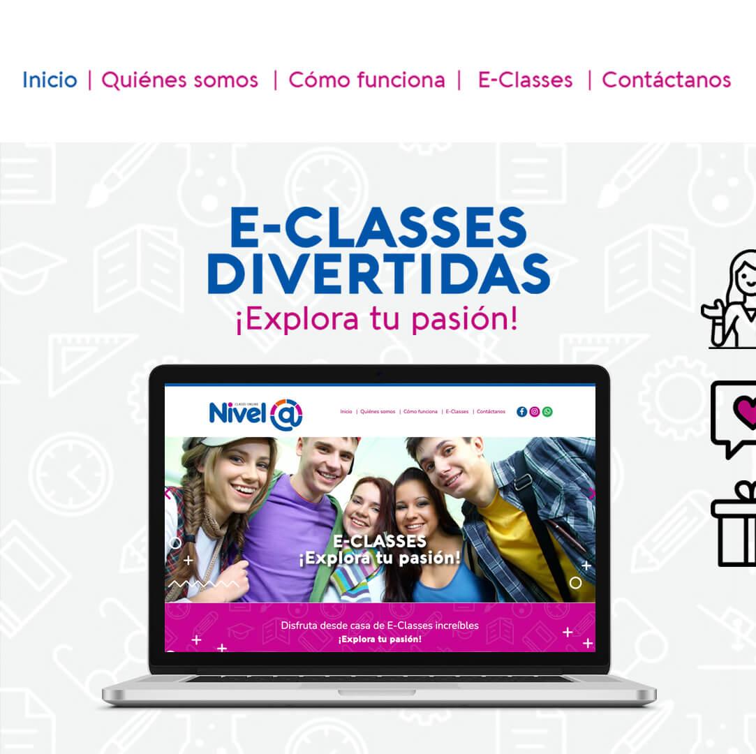 Plataforma Virtual de enseñanza - Nivel Arroba