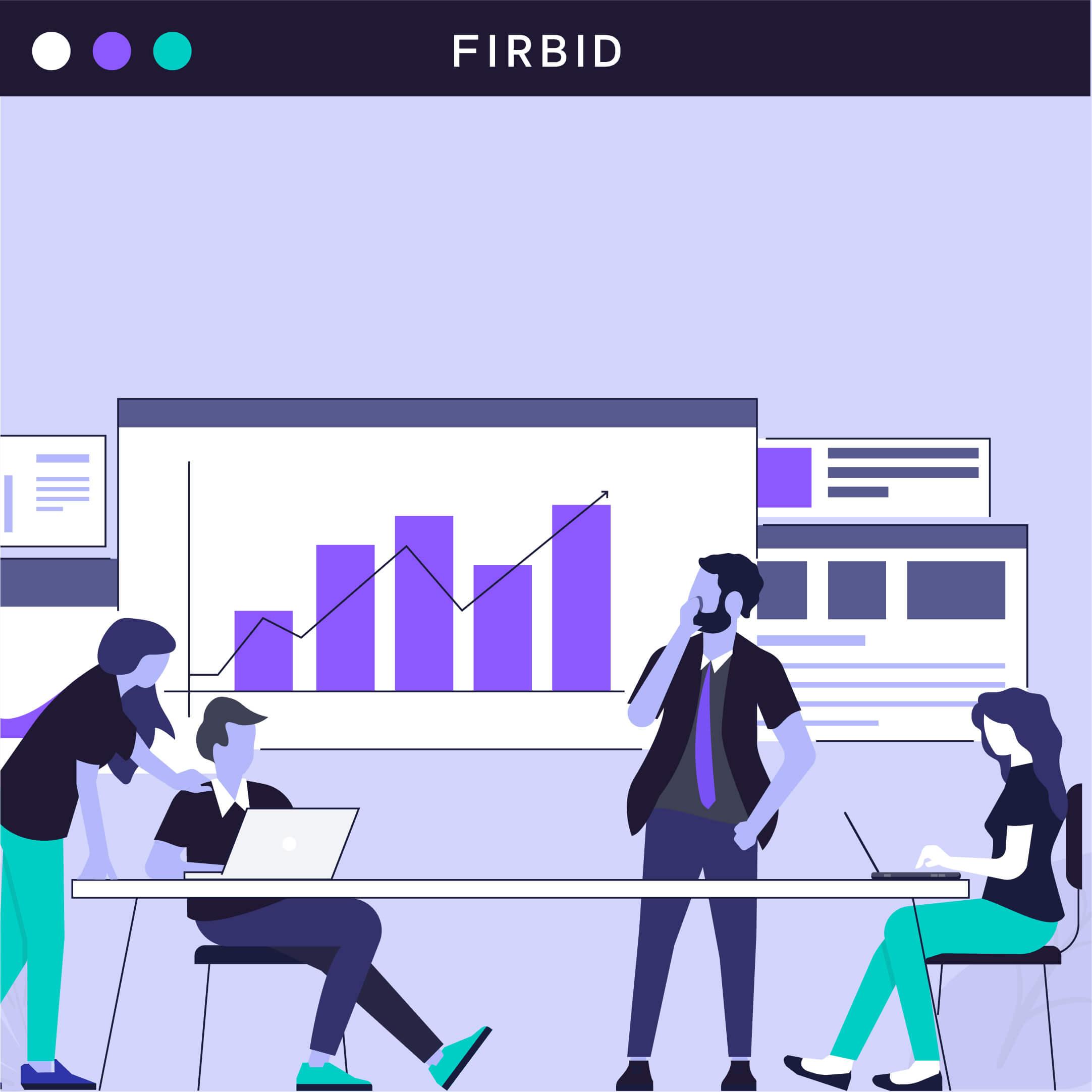 Diseño de Ilustraciones para Sitio Web - Firbid